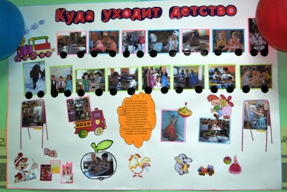 Плакат для выпускного в детском саду своими руками